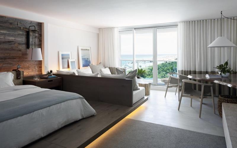 1HotelSouthBeachGuestroom