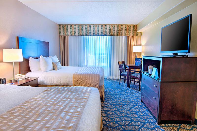 Barrymore Hotel Tampa Standard Guest Room 2 Queen Beds