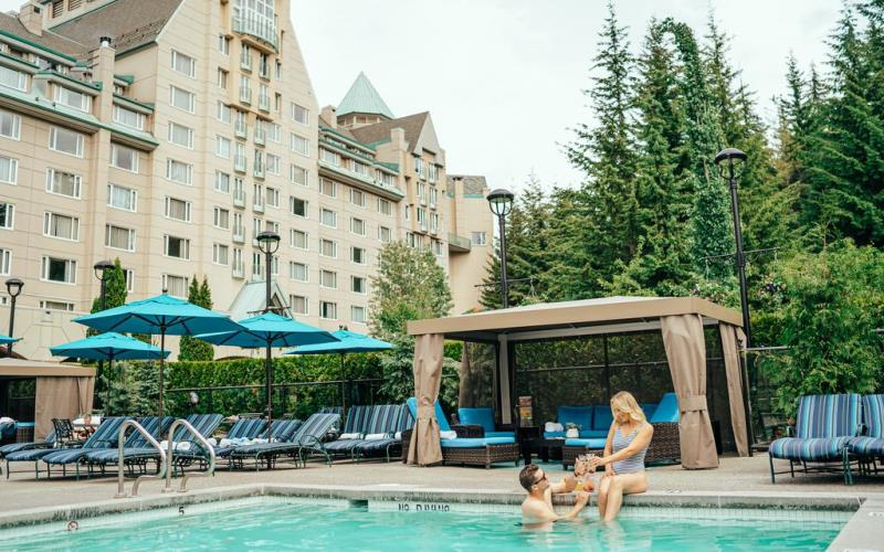 FairmontChateauWhistlerSwimmingPool