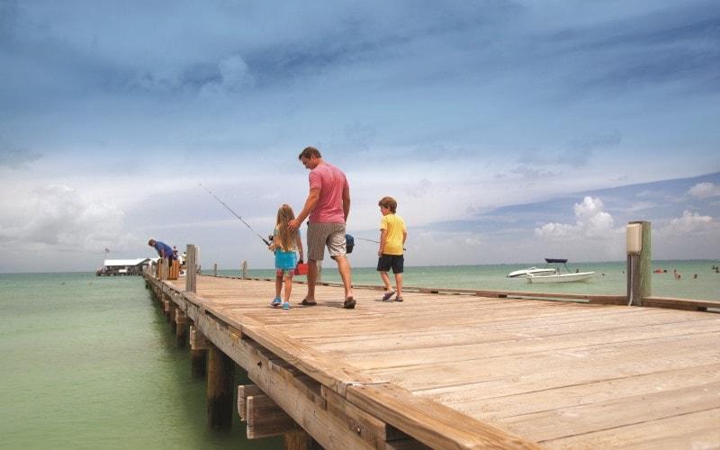 Fishing Tall