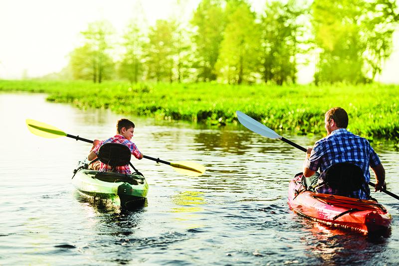 Kissimmee wildfloirda kayaking