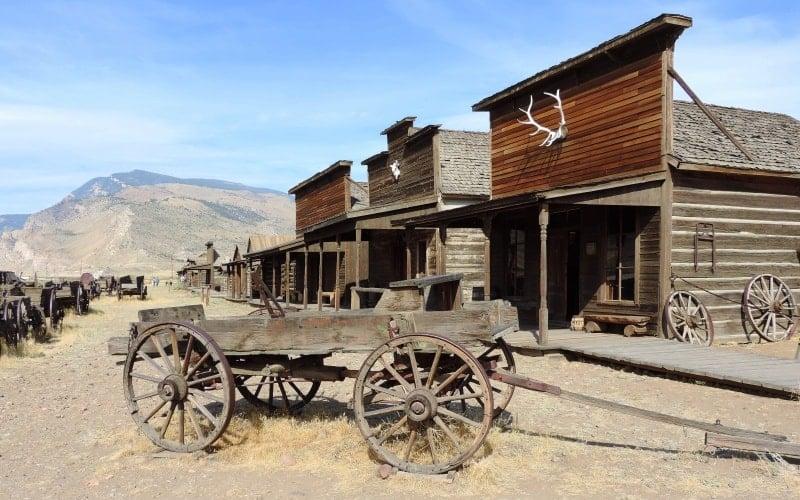 OldTownVillgeinCody-Wyoming