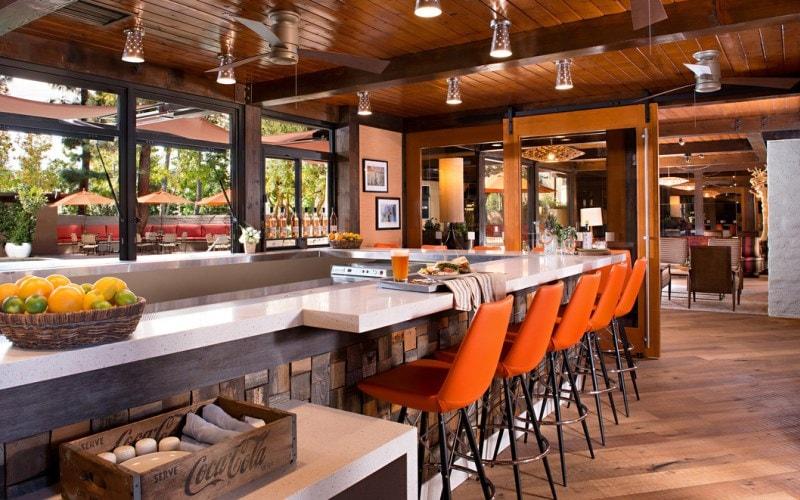 Lobby and Pool Bar