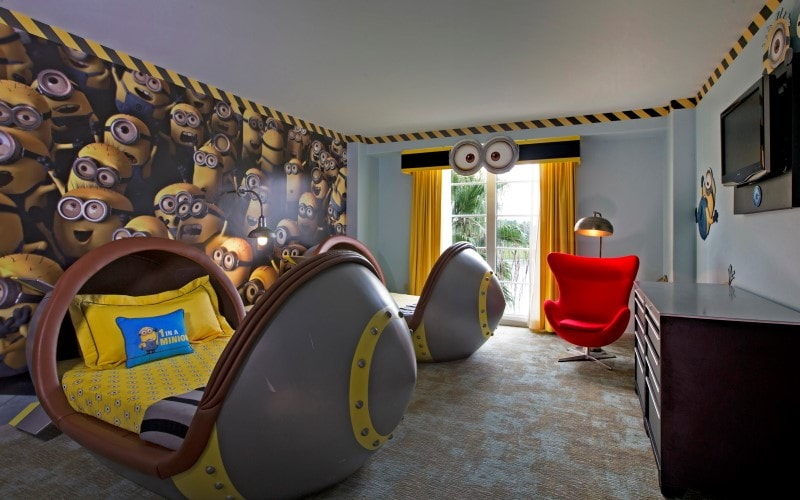 Advertising Resort Shoot. Portofino Bay Hotel, Governatore Suite, Presidential Suite and new Despicable Me Suite.