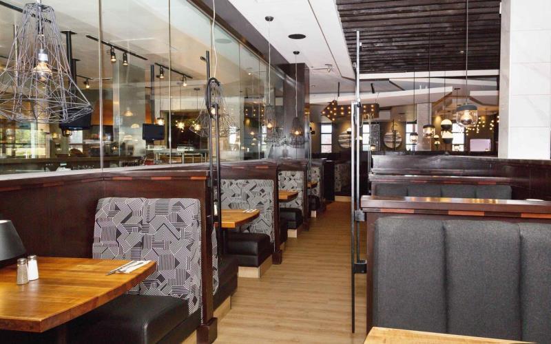 SandmanHotelCalgaryAirportRestaurant