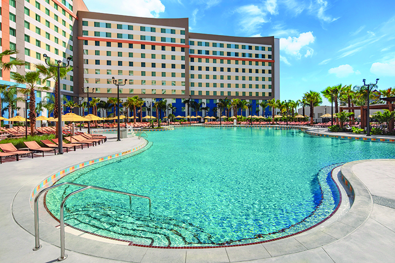 20-45201 ESR20 Dockside Pre-Open Shoot 022720-022920, Loews Hotels Endless Summer Resort Pool Oasis Bar Architecture