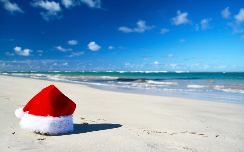 Where to go in December for Sun
