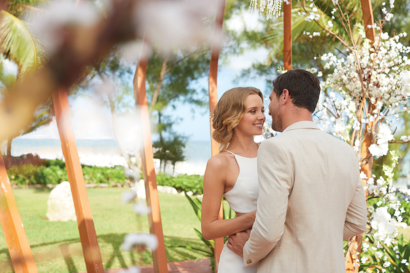 Essence at the Fives Beach Playa del Carmen ABRTF Wedding Couple