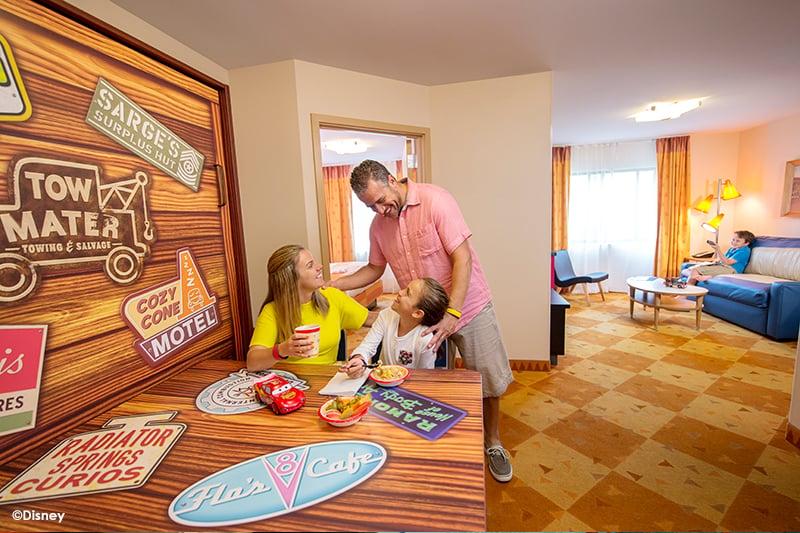 Disneys Art of Animation Resort Cars Room