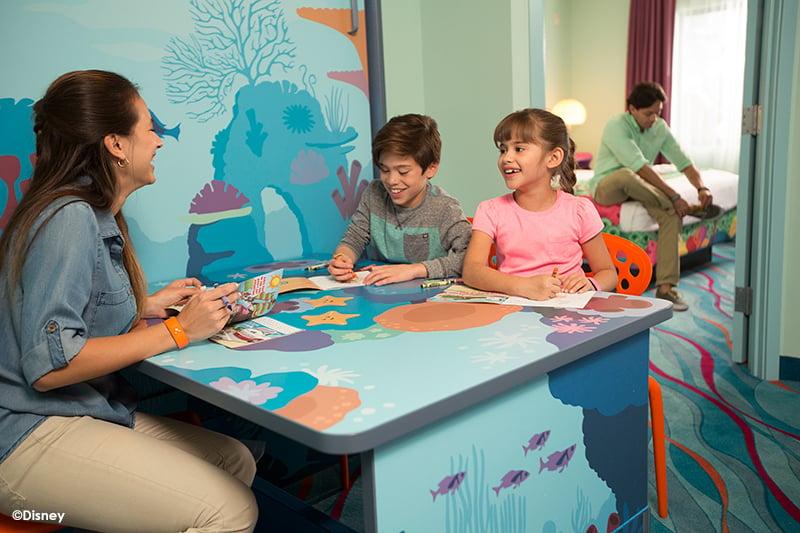 Disneys Art of Animation Resort Finding Nemo Room