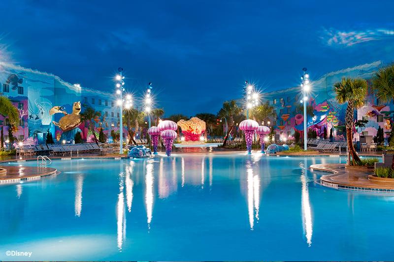 Disneys Art of Animation Resort Pool 2