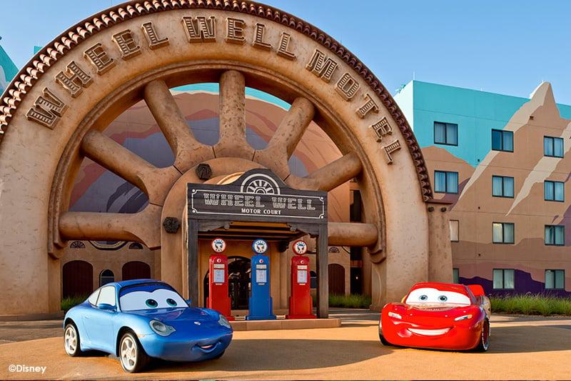 Disneys Art of Animation Resort Wheel Well Motel