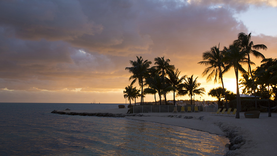 Postcard Inn on the Beach Beach Sunset