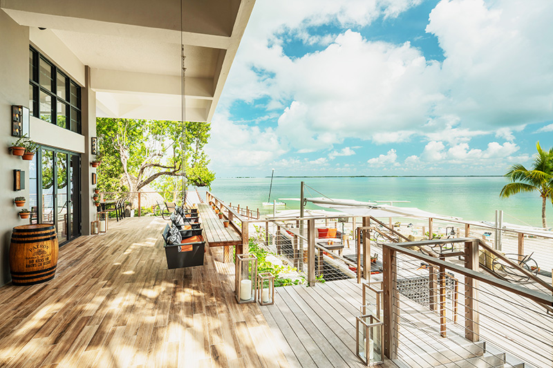 Bakers Cay Resort Kery Largo DRY ROCKS DECK