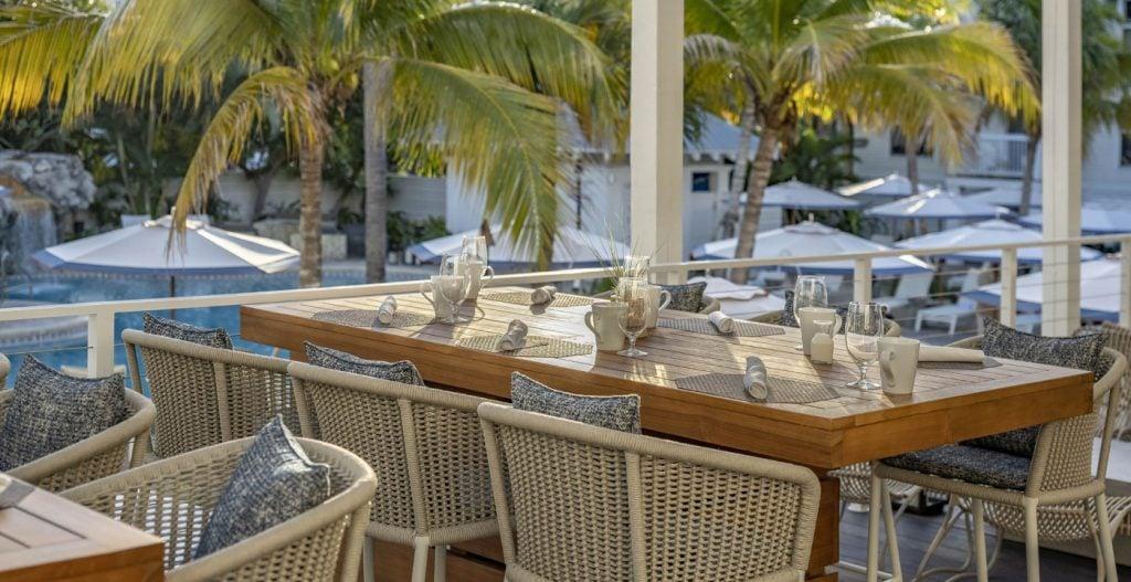 Barbary Beach House Key West Dining