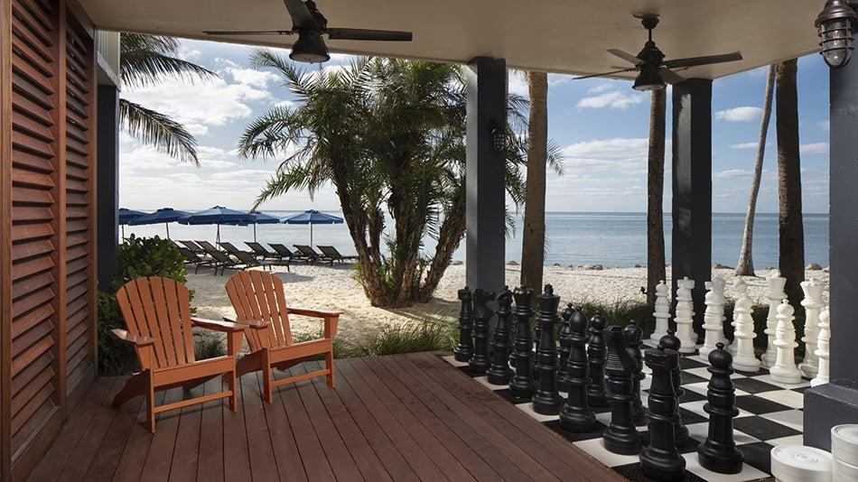 Pelican Cove Islamorada Outside Chess
