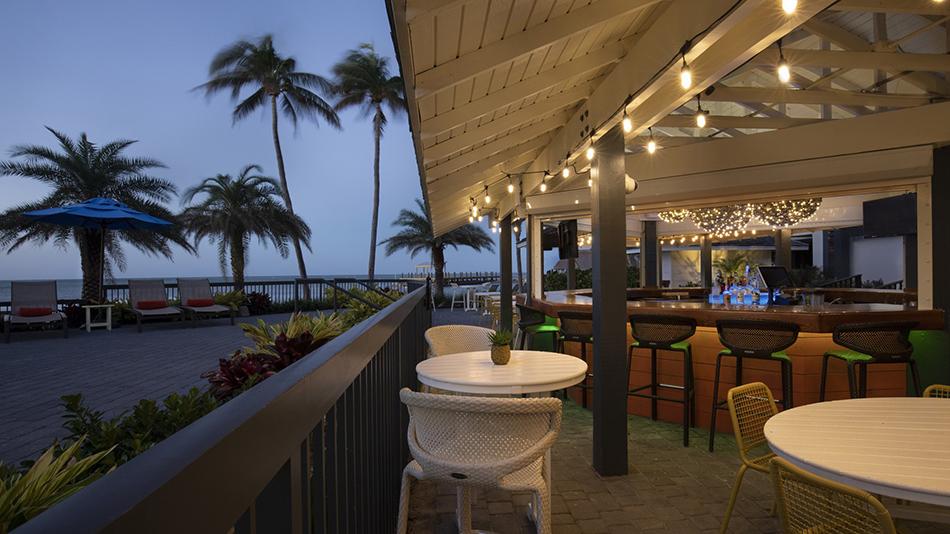 Pelican Cove Islamorada Wild & Lime Outdoor Bar
