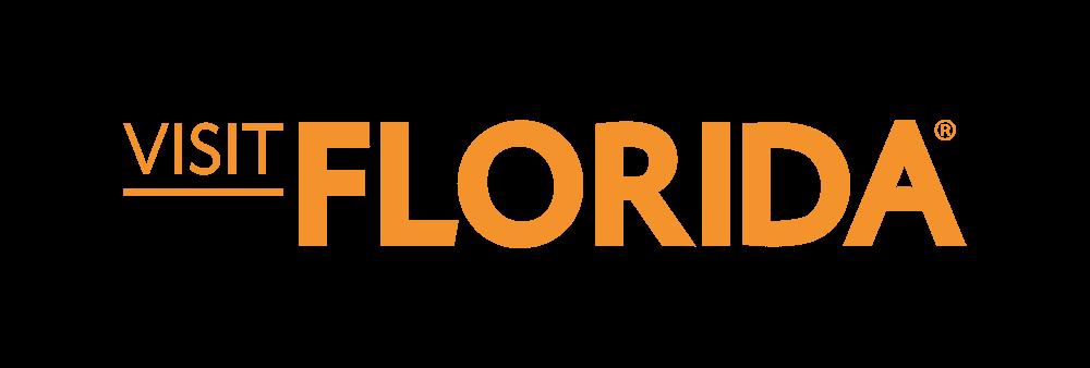 Visit Florida Mid Orange Logo