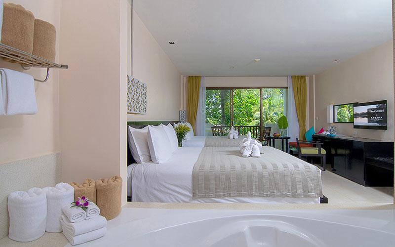 Apsara Beachfront Resort and Villa, Khao Lak Deluxe Family Room
