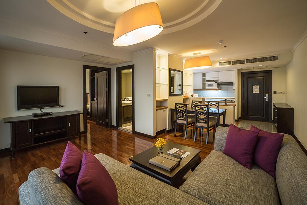 Bandara Suites Silom Bangkok 1 Bedroom Suite