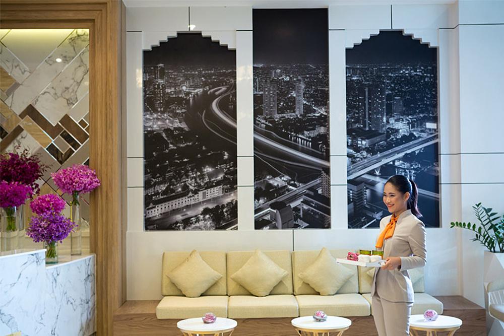 Bandara Suites Silom Bangkok Lobby