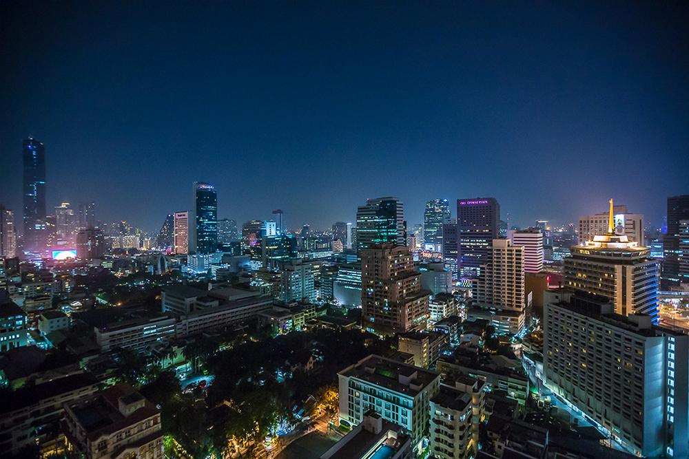 Bandara Suites Silom Bangkok Night