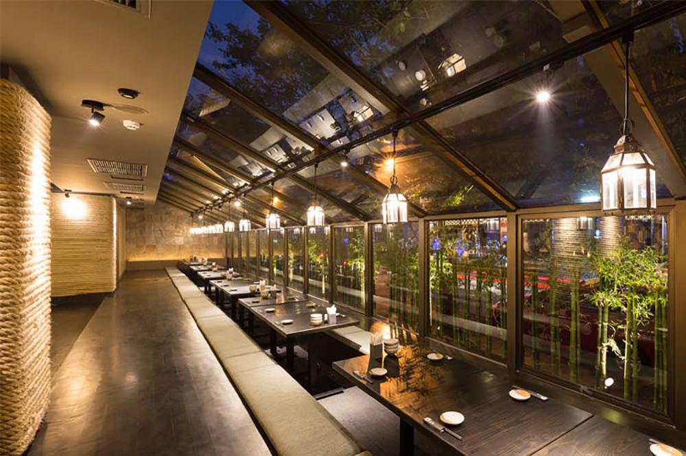 Bandara Suites Silom Bangkok Touka Restaurant