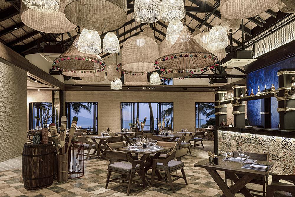 Samui Palm Beach Resort, Koh Samui Trade Winds Restaurant