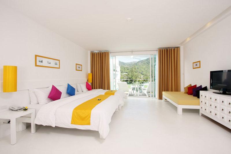 The Old Phuket Karon Beach Resort, Phuket Serene Wing Bedroom 3