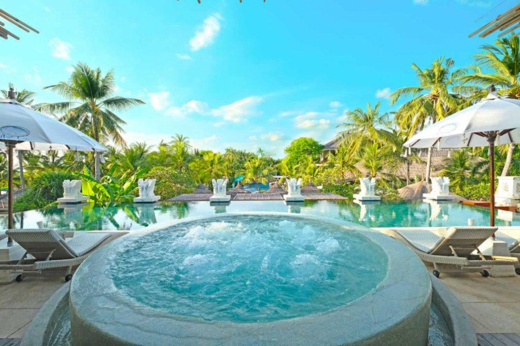 Bali Mandira Beach Resort & Spa Jacuzzi