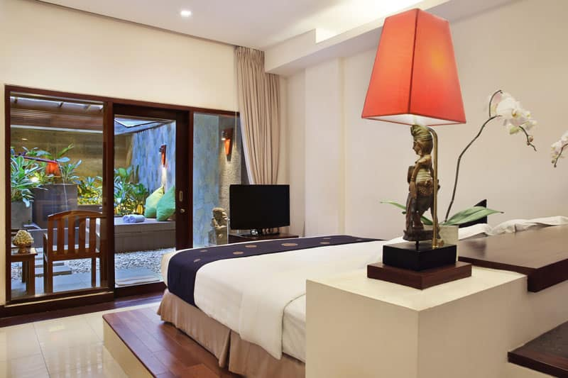 Bali Mandira Beach Resort & Spa Private Courtyard Club