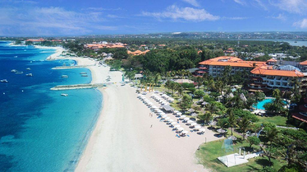 Grand Mirage Resort & Thalasso Bali Spa, Bali Beach 3