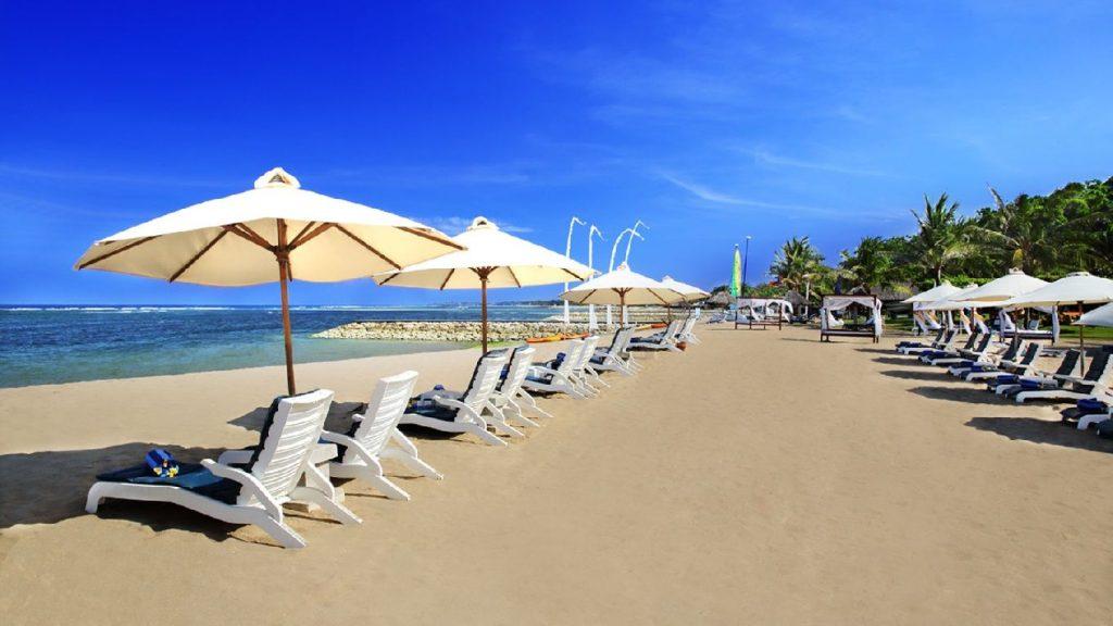 Grand Mirage Resort & Thalasso Bali Spa, Bali Beach 4