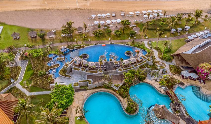 Grand Mirage Resort & Thalasso Bali Spa, Bali Infinity Pool