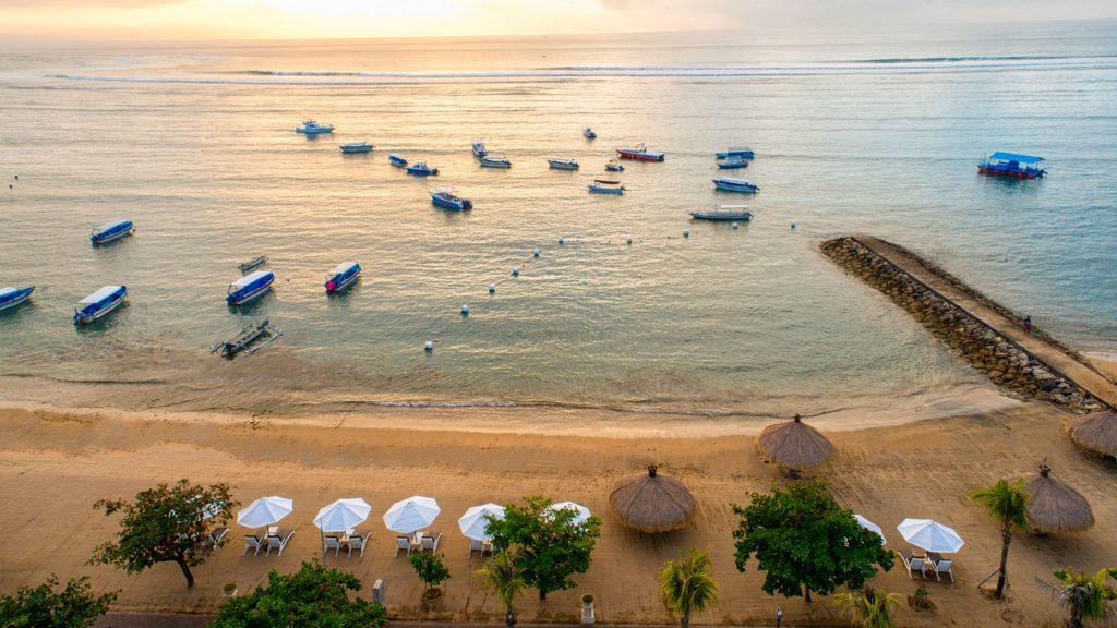 Grand Mirage Resort & Thalasso Bali Spa, Bali Sea