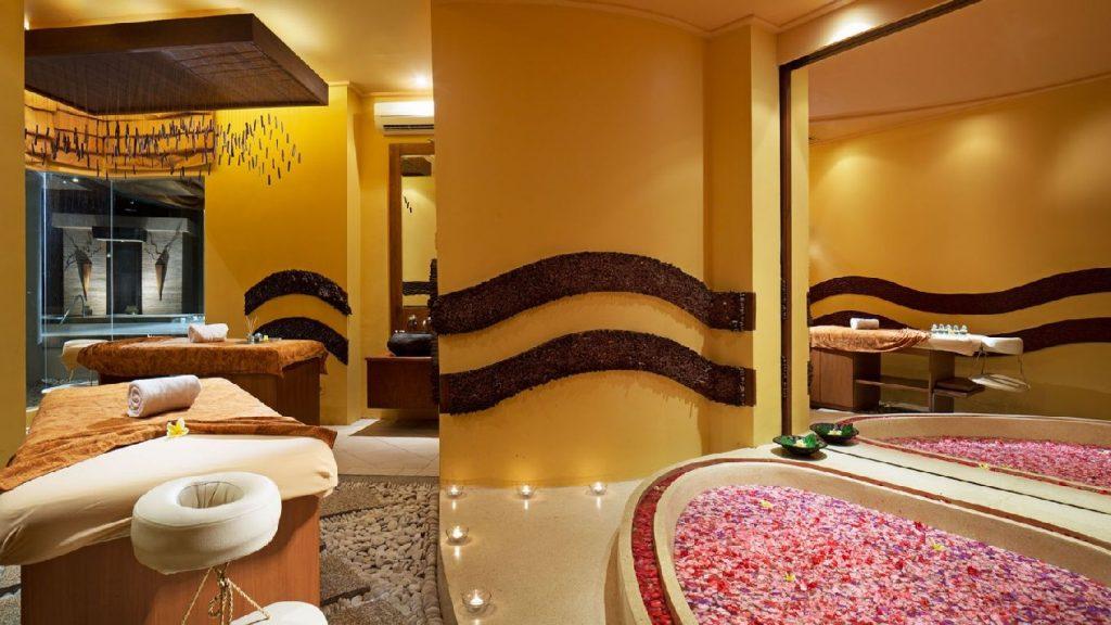 Grand Mirage Resort & Thalasso Bali Spa, Bali Spa Flower Bath