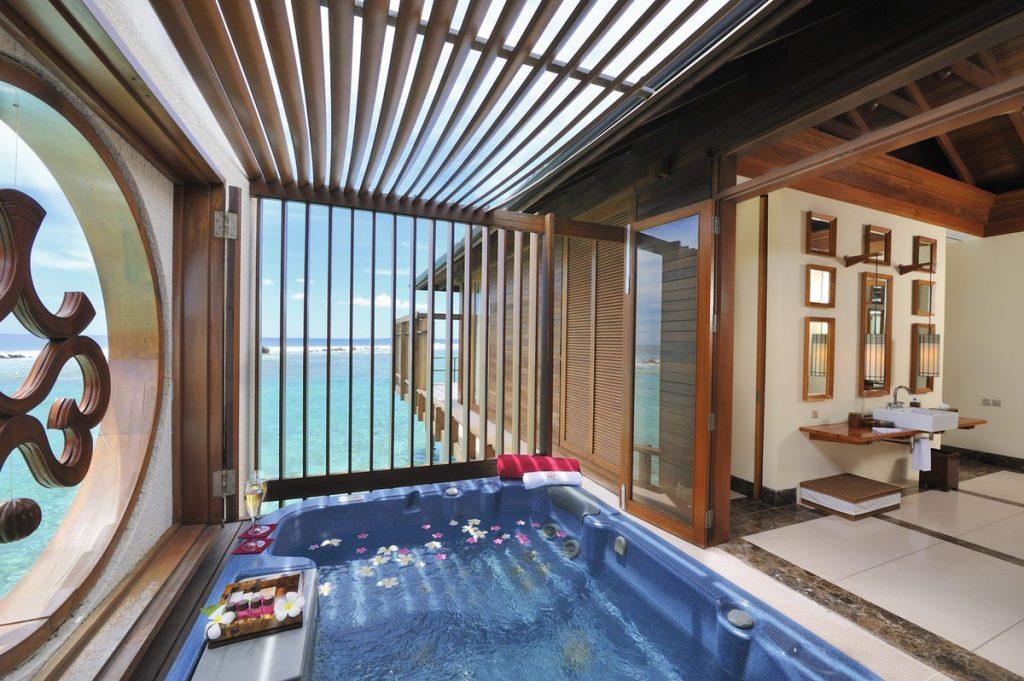 Paradise Island Ocean Suite Interior Maldives