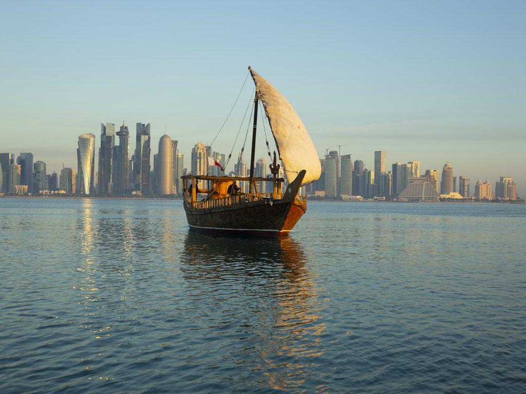 Qatar Dhow Boat