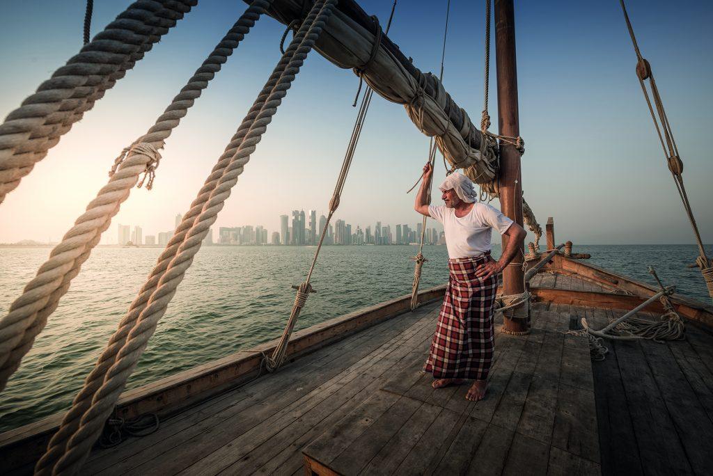 Qatar Dhow Pearl Diver
