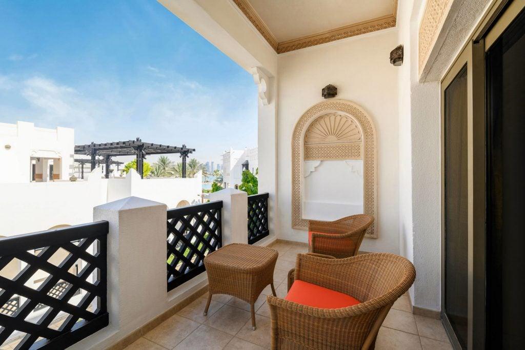 Sharq Village & Spa, a Ritz Carlton Hotel, Doha Balcony View