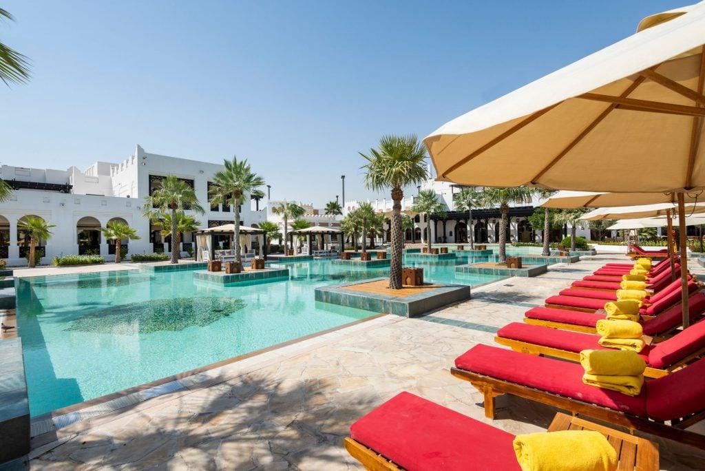 Sharq Village & Spa, a Ritz Carlton Hotel, Doha Pool 2