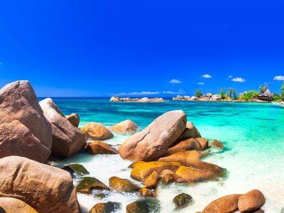 most beautiful tropical beaches - Seychelles, Praslin island